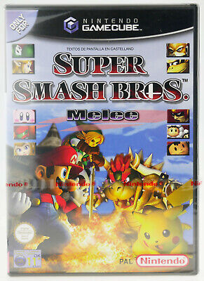 Super Smash Bros. Melee | Nintendo GameCube NGC | NEW factory SEALED red strip