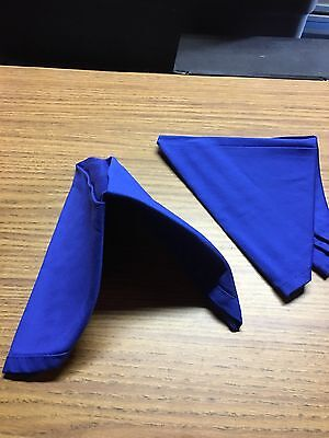 Cloth Dinner Napkins For Wedding Party, Catering, Restaurant use .6 per set