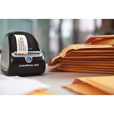 DYMO LabelWriter 450 Super Bundle - FREE Label Printer with 2 rolls of Shipping,