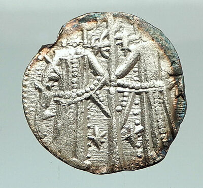 IVAN ALEXANDER MICHAEL ASEN IV 1331AD Rare Silver Coin JESUS CHRIST  i76928
