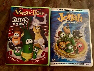 Veggie Tales Jonah And The Whale Pirates Ship Boat Toy Characters