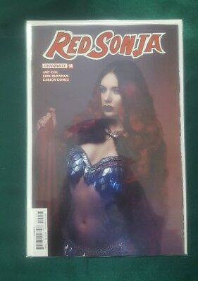 RED SONJA #14  Cosplay Variant Dynamite COVER D 1ST PRINT