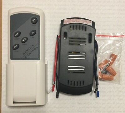 Universal Lamp Kit With Dimmer & Wireless Remote Control for Ceiling Fan