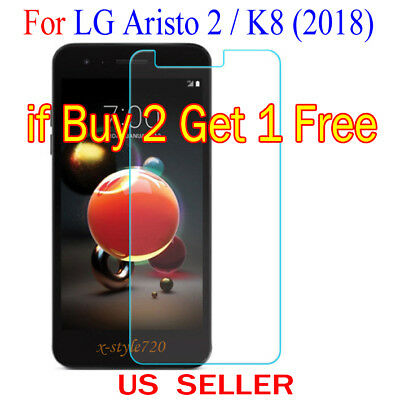 1x Clear LCD Screen Protector Guard Cover Film For LG Aristo 2 /MX210 / K8(2018)