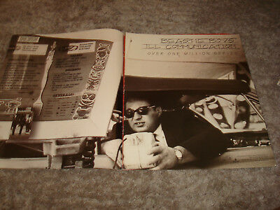 "BEASTIE BOYS ad for hit ""Ill Communication"" Mike D, MCA, Ad-Rock & TONI BRAXTON"