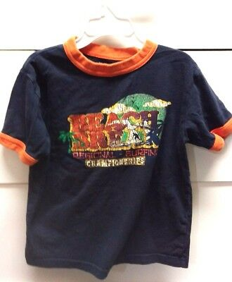 Toddler boys 4T childrens place  short-sleeved shirt top blue