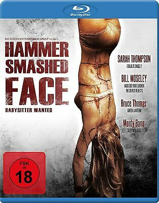 Hammer Smashed Face - Babysitter Wanted (2008)RegioB -BLU RAY ENGLISH+GERMAN NEW