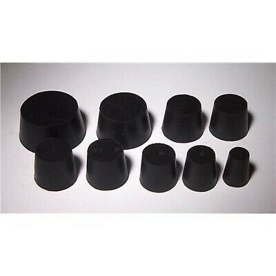 United Scientific RSTPK1 Rubber Stopper, 1 to 6 Sizes Assortment, Assorted, 1...