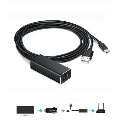 1Pc Ethernet Adapter with Cable Micro USB to RJ45 Network Card For Fire TV Stick