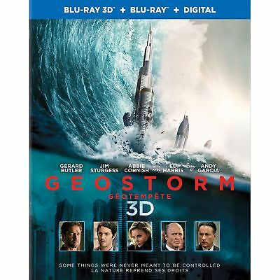 Blu Ray 3D + 2D : Geostorm 3D + Version 2D - NEUF