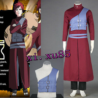 Cartoon Character Naruto Gaara Seventh Naruto Cosplay Costume Halloween Clothes