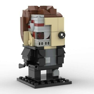 Lego Brickheadz - The Terminator - MOC Creation - PDF Instructions Only