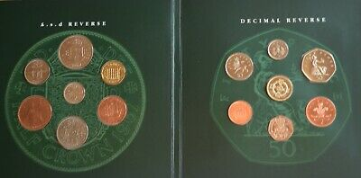 1996 From Old Pennies £.s.d and Decimal Coin Set
