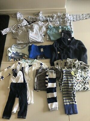 BONDS 20 Piece Baby Boy Bundle