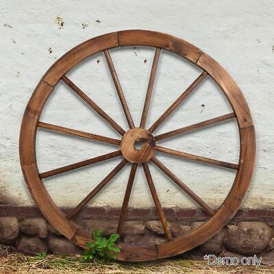 Gardeon Wooden Wagon Wheel