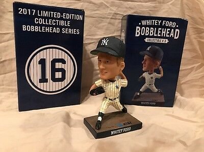 Whitey Ford SGA 7/9/17 New York Yankees Bobble Bobblehead Statue Figurine