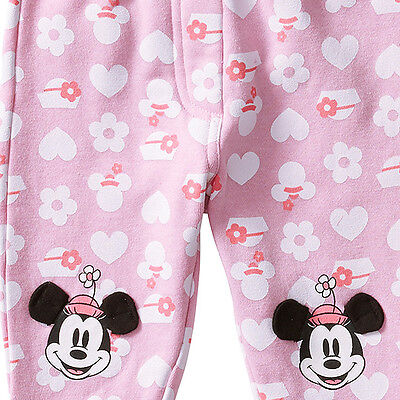 Baby girls Minnie Mouse track pants joggers  Trackpants Size 1   BNWT
