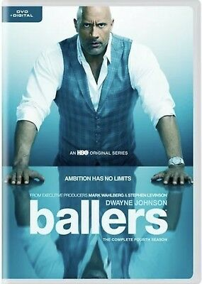 Ballers The Complete Fourth Season(Dvd+Digital)New