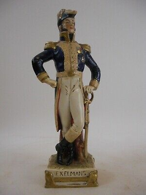 Exelmans - Napoleon Soldier Figurine Bust French German Grand Tour Style