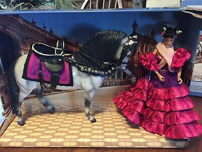 Breyer Spanish Flemenco Horse And Rider Limited Edition Collectors Set