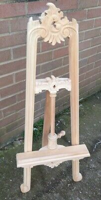 Easel solid wood hand carved 100 cm easel mahogany wedding portrait