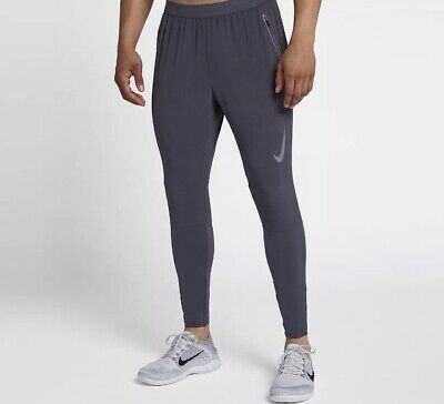 2f24a2c191857 Nike Flex Swift Running Pants Dri-Fit Men's Sz Large L Gridiron 928583 081  NWT