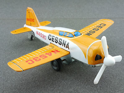 K Japan Cessna Blechflugzeug tin litho airplane rare 60er 1604-25-06