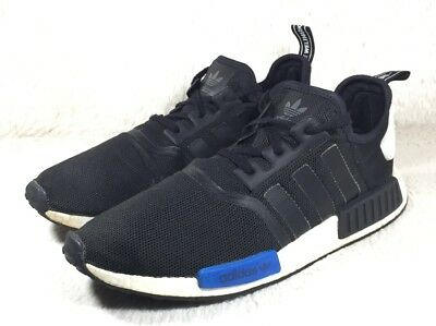 36125f2ece513 Adidas NMD Runner R1 Shoes Mens Tokyo Black Athletic Casual S79162 Size 14  EUC