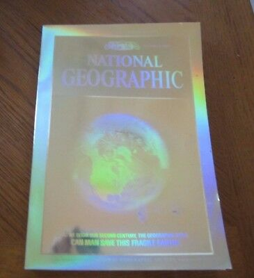 Dec.1988 Eclipse Hologram McDonalds World Map National Geographic Magazine