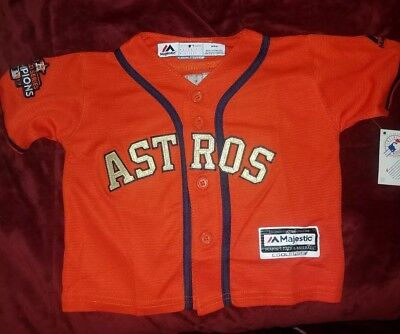 d9fccb75e HOUSTON ASTROS MLB Majestic Toddler Replica Jersey add any name ...