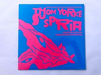 THOM YORKE SUSPIRIA Unreleased Material black vinyl 12