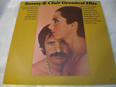 Sonny And Cher Greatest Hits MCA 2117 Stereo Vinyl Record LP