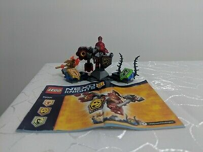 LEGO Nexo Knights Ultimate Macy (70331) included Instructions