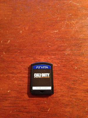 Call Of Duty Black Ops Declassified PS Vita Game Cartridge MINT - Ship in 1-Day