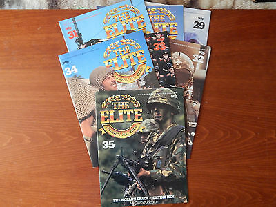 7X The Elite Against All Odds Mags Is. 29-35 Top Malo Paras 45 Commando Marines
