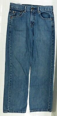 VGUC Levi Strauss & Co. Boys Size 16 Reg 28W 28L Levis Relaxed Fit Blue Jeans MS