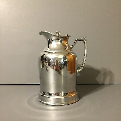 Vintage Grand Silver co. Wear Brite Nickel Silver Pitcher