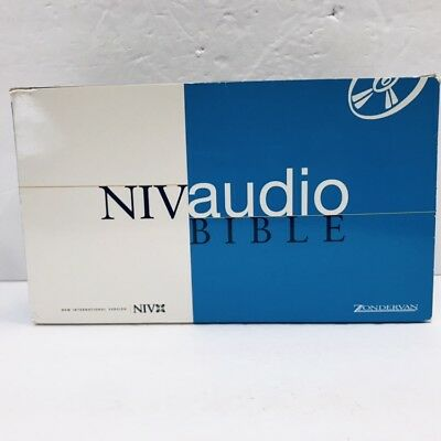 ZONDERVAN NIV NEW Testament Audio Bible Voice only 40 cds Read by
