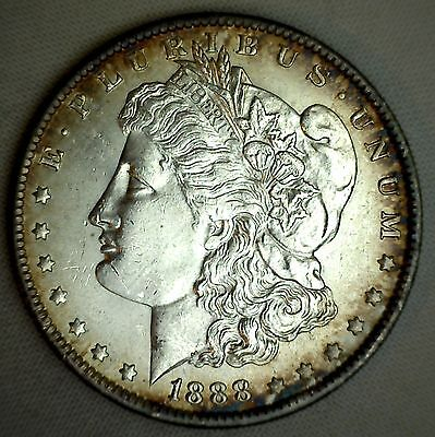 1888 O Morgan Silver One Dollar US Coin Uncirculated New Orleans MS $1 #T