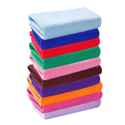 10pcs/Pack Baby Face Washers Hand Towels Cotton Wipe Wash Cloth Microfiber