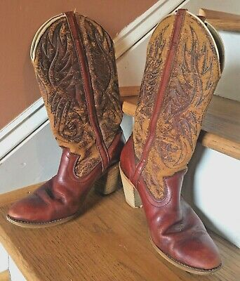 d0bd3aaebd6 VINTAGE 1960S ACME Rancher Wellington Cowboy Engineer Boots With Box ...