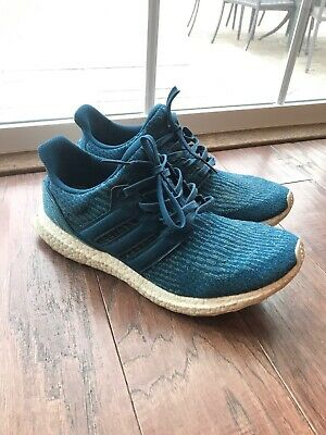 9897f2d92939b ADIDAS PARLEY FOR The Ocean Ultra Boost 3.0 Size 10.5 Blue -  80.00 ...