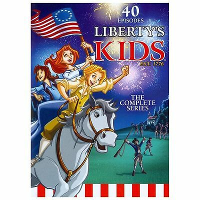 Libertys Kids - The Complete Series DVD 4 Disc Set New Sealed 40 Episodes