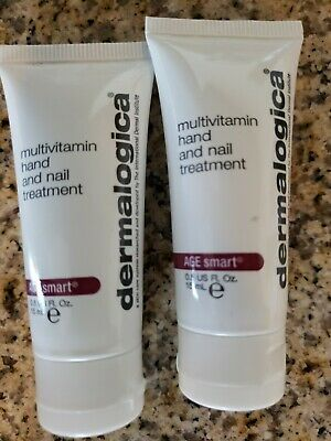 DERMALOGICA AGE SMART Multivitamin Hand and Nail Treatment 0.5oz NEW ...