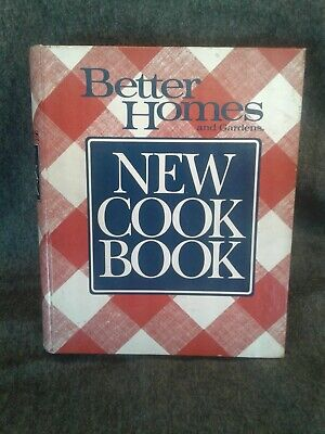 Better Homes and Gardens New Cook Book 1989 5 Ring Binder Complete
