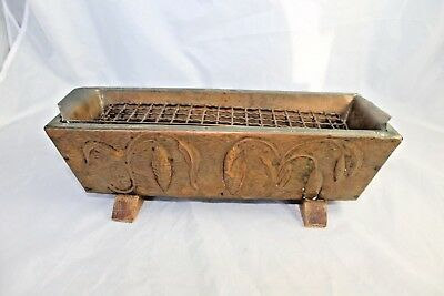 Arts & Crafts Movement Copper Planter Wood Repousse Mission Art Nouveau Vintage