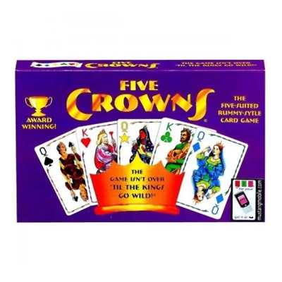 Five Crowns Card Game SET04001 Brand New