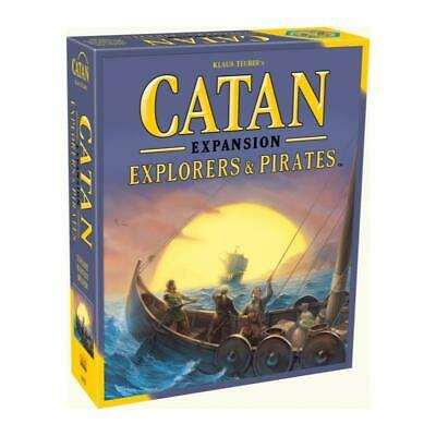 Catan Explorers and Pirates 5th Edition May-75 Brand New