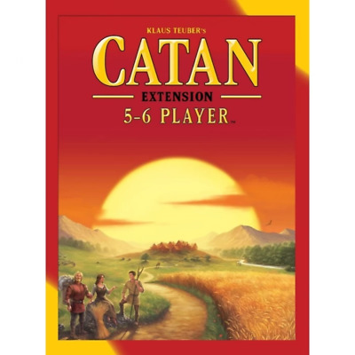 Catan 5th Edition 5&6 Player Expansion May-72 Brand New