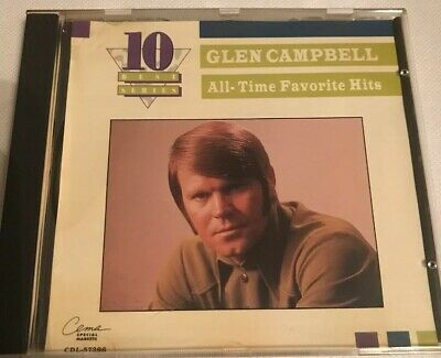 Glen Campbell - All-Time Favorite Hits [Capitol Special Markets] New Cd